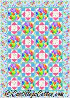 Confetti Balloons Quilt Pattern CJC-54482