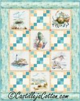 Lighthouses and Boats Quilt Pattern CJC-54541