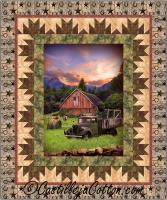 Barn and Truck Quilt Pattern CJC-54561