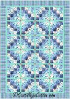 Four by Four Diamonds Quilt Pattern CJC-54661