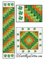 Good Luck Sixes Table Set Pattern CJC-54880