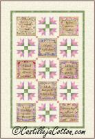 Good Words Quilt Pattern CJC-54911