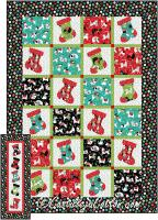 Paws Stockings Quilt Pattern CJC-55110