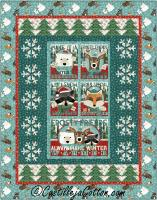 Snowflakes and Trees Quilt Pattern CJC-55241