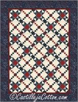 Chained Stars Quilt Pattern CJC-55392