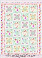 Flowers and Birds Quilt Pattern CJC-55451