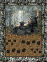 Mama Bear and Cub Quilt Pattern CJC-55461