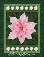 Holiday Poinsettia Quilt Pattern CJC-55501