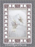 Pair of Doves Quilt Pattern CJC-55531