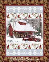 Cabin in the Forest Quilt Pattern CJC-55561