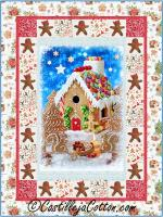 Gingerbread House Quilt Pattern CJC-55581