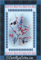 Blue Jay Panel Quilt Pattern CJC-55591