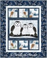 Winter Owls Wall Hanging Pattern CJC-55601