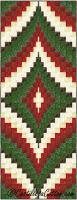 Christmas Diamonds Runner Pattern CJC-55691