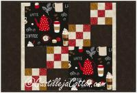 Coffee Time Placemat Pattern CJC-55961