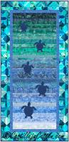 Turtles to the Sea Wall Hanging or Runner Pattern CJC-56131