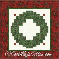 Christmas Wreath Wall Hanging Pattern CJC-56181