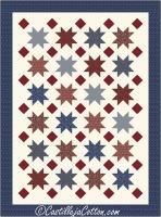 Floating Stars and Diamonds Quilt Pattern CJC-49352