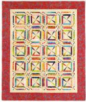Willy Nilly Pinwheel Quilt Pattern CMQ-147