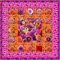 Blooming Landscape Quilt Pattern CPW-106