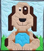 Dog Quilt Pattern CQ-025