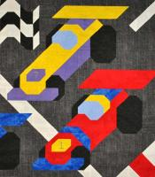 Race Cars Quilt Pattern CQ-066