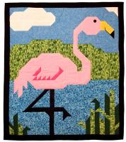 Flamingo Quilt Pattern CQ-067