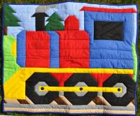 Train Quilt Pattern CQ-068
