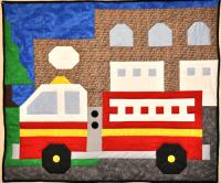 Fire Engine Quilt Pattern CQ-070