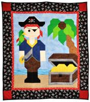 Pirate Quilt Pattern CQ-100
