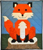 Baby Fox Quilt Pattern CQ-107