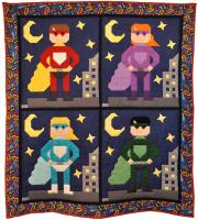 Super Hero Quilt Pattern CQ-124