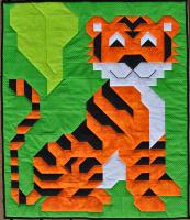 Andy's Tiger Quilt Pattern CQ-136