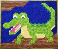 Alligator Quilt Pattern CQ-137