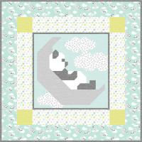Sleepy Panda Quilt Pattern CQ-140