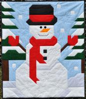 Frosty Friend Quilt Pattern CQ-143