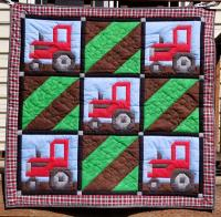 Plowing the Field Quilt Pattern CQ-144
