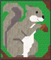 Squirrel Quilt Pattern CQ-145