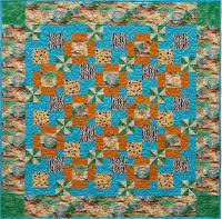 Jungle Spin Quilt Pattern CQA-320