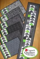 Geese Across the Table Quilt Pattern CQD-1010e