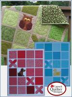 Tic Tac Who? Quilt Pattern CQD-5499e