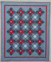 Starlight Plaid Quilt Pattern CQD-5574e