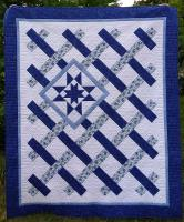 On the Fence Quilt Pattern CQD-5635e