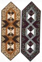 Four Patch Links Table Runner Pattern CTD-1003