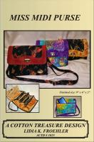 Miss Midi Purse Pattern CTD-1025