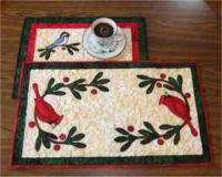 Winter Friends Table Set Pattern CTG-044