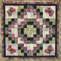 Radiant Butterfly Quilt Pattern CTG-091