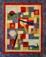 Baseball Legends Quilt Pattern CTG-118