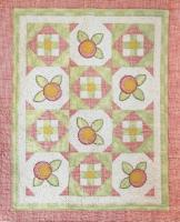 Baby Rosebuds Quilt Pattern CTG-123