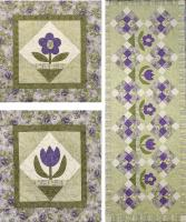 Cottage Blooms Quilt Pattern CTG-132